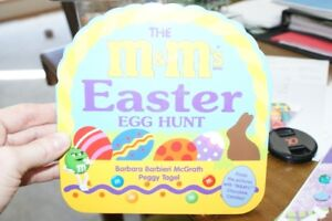 M and M's Easter Egg Hunt Board Book