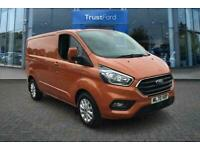 2020 Ford Transit Custom 300 Limited L1 SWB FWD 2.0 EcoBlue 130ps Low Roof, POW
