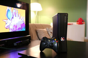 Fully Loaded Xbox 360 Slim w/ S-RGH + Modded LED's