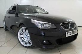 2009 59 BMW 5 SERIES 3.0 525D M SPORT BUSINESS EDITION TOURING 5DR AUTOMATIC 195