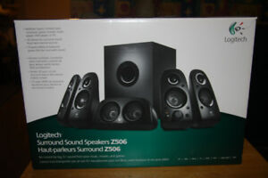 Logitech z506 surround speakers