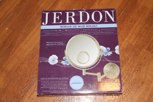 Jerdon JP7510N 8-Inch Wall Mount Makeup Mirror