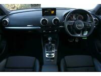 2016 Audi A3 2.0 TDI S Line 5dr S Tronic Auto Hatchback Diesel Automatic