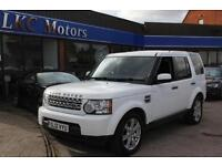 2012 LAND ROVER DISCOVERY 4 SDV6 GS ESTATE DIESEL
