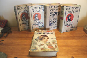 Lot of 5 Ruth Fielding Books