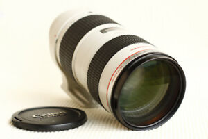 Like new condition Canon EF 70-200mm L f2.8 USM version 1