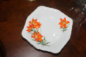 Prairie Lily Bone China Candy / Peanut Dish or ???