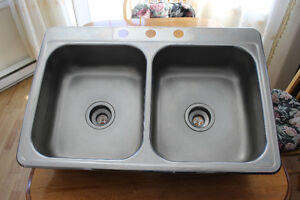 Used Kitchen Sink and Counter top for sale