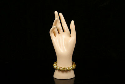 New 1 Pc Female Mannequin Hand Arm Display Base Gloves Jewelry Model Stand Skin