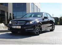 2012 12 MERCEDES-BENZ C CLASS C220 CDI BLUEEFFICIENCY AMG SPORT PLUS 2.1 4D AUTO