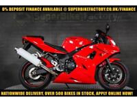 2004 54 TRIUMPH DAYTONA 600CC 0% DEPOSIT FINANCE AVAILABLE