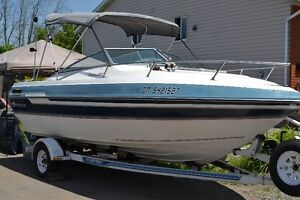 1988 20 ft thomson boat and matching trailer for sale
