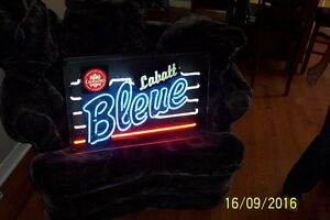 Original Labatt's Blue neon sign