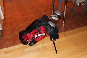 Kids Left Handed Golf Clubs and Bag