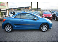 Peugeot 207 CC 1.6 16v 120 Coupe Sport 2009MY+BLUE+STUNNING