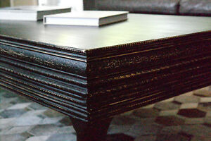 Black Coffee Table Handmade in Ontario
