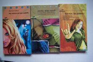 3 LIVRES JEUNESSE  COLLECTION ADO