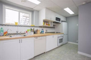 Spacious Furnished 2 bedroom suite( all utilities inclusive)