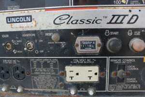 Lincoln Classic III 300D Welder and Trailer