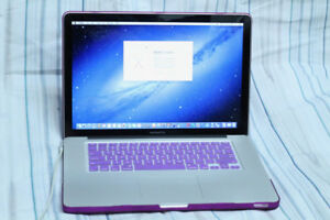 "MacBook Pro 15""  8GB RAM / 240 SSD / New Battery / Quad Core i7"