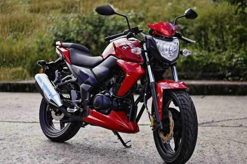 SYM Wolf SB 125cc Sports Naked Motorcycle Learner Legal