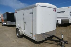 2018 6X10 Enclosed/Cargo Trailer Canadian Hauler -