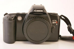 Canon EOS Rebel XS 35 mm Film SLR Camera Body Only