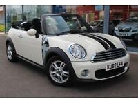 2012 MINI CONVERTIBLE 1.6 One POWER ROOF, ALLOYS, DAB and BLUETOOTH