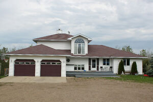 Entertainer's dream home on 3.89 acres near Plamondon, AB