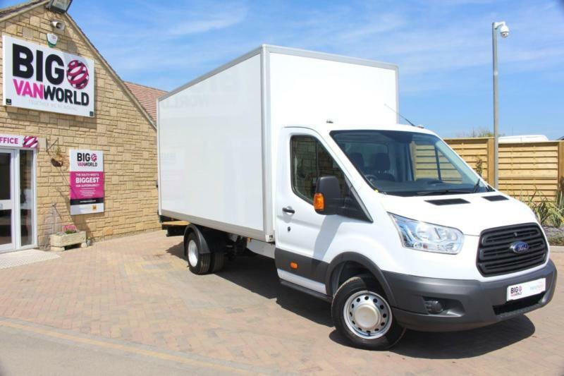 2015 FORD TRANSIT 350 TDCI 125 L4 DRW 'ONE STOP' HIGH CAPACITY LUTON BOX WITH TA