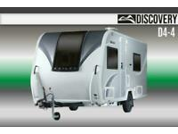 Bailey Discovery D4-4, NEW, 2021, Touring Caravan