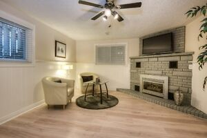 Spacious updated 2 bedroom unit, carpet free/heated tile - July1