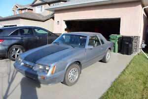 Hard to find 1985 Mustang LX Coupe 5.0L