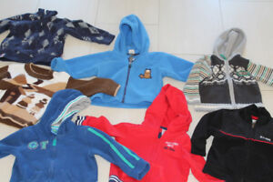 12-18m baby boy hoodies and sweaters / Can deliver for $$