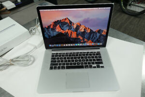 "MJLQ2LL/A Apple MacBook Pro 15.4"" i7 2.2GHz Laptop mid 2015"