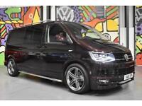 2016 VW TRANSPORTER T6 LWB HIGHLINE KOMBI 180PS DSG SPORTLINE PK BLACKBERRY