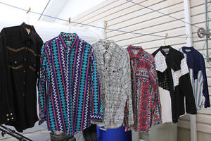cowboy, country, western tops/shirts