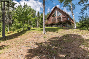 3 Season Chalet on 3 Acres of Land on Richibucto River