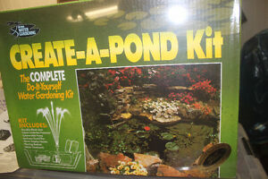 "NEW ""CREATE A POND"" KIT"