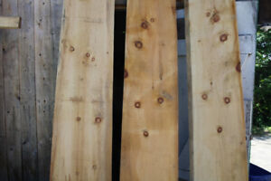 Wide Pine Boards