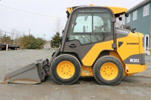 Volvo MC85C Skid Steer Loader - 350 HOURS + 2-SPEED