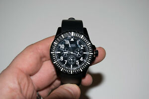 Guess Multifunction Rogue Watch - Mens Black