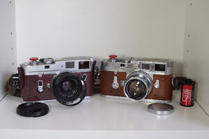 Leica Film Camera, M4 or M3 with 35mm or 50mm summicron
