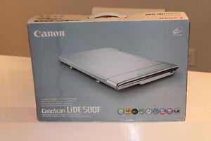 CanoScan LiDE 500F High End Color Image Scanner