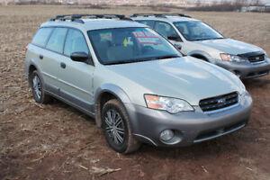 2006 Subaru Outback Wagon new MVI