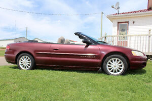 2001 Chrysler Sebring LX Coupe (2 door)