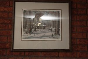Frank Panabaker Print - Maple Sugaring