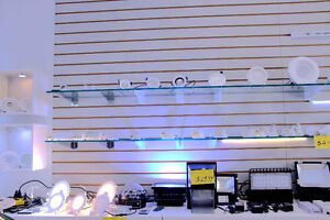 LED Pot Light, Slim Panel Light, Strip, Tube, Commercial Light