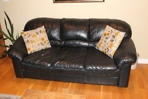 Couch and reclining chairs