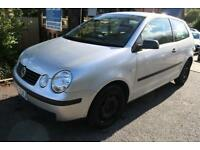 2003 (53 Plate) Volkswagen Polo 1.2 E 55PS Silver Low Mileage Long MOT Low Ins